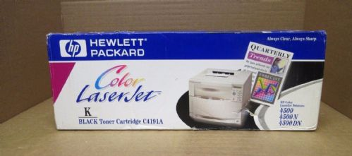 HP C4191A Black LaserJet 4500 4500N 4500DN Toner Printer Cartridge New Sealed